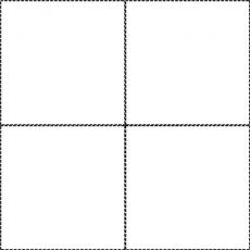 2 by 2 grid