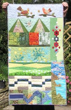 IBS4 Quilt: Margaret P., UK