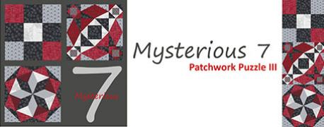 Mysterious 7 - Patchwork Puzzle THREE