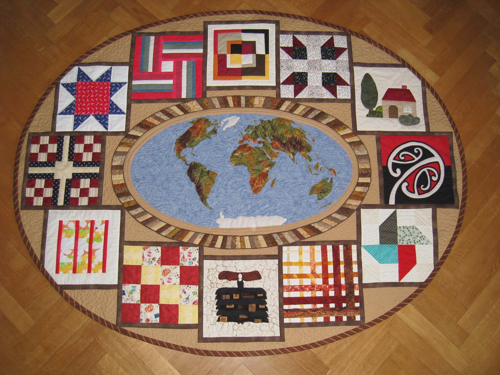 Quilts Around The World Michimosmuller A Quilters World Publ