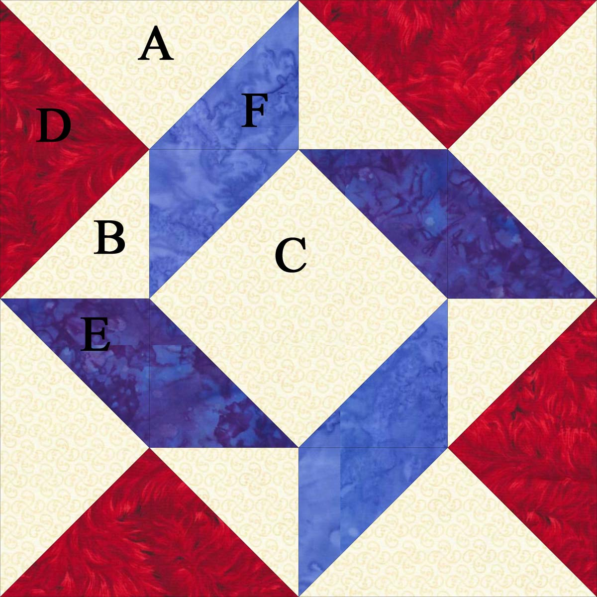Quilt Patterns Quarter Square Triangles : Quarter Square Triangle Quilt Pattern images