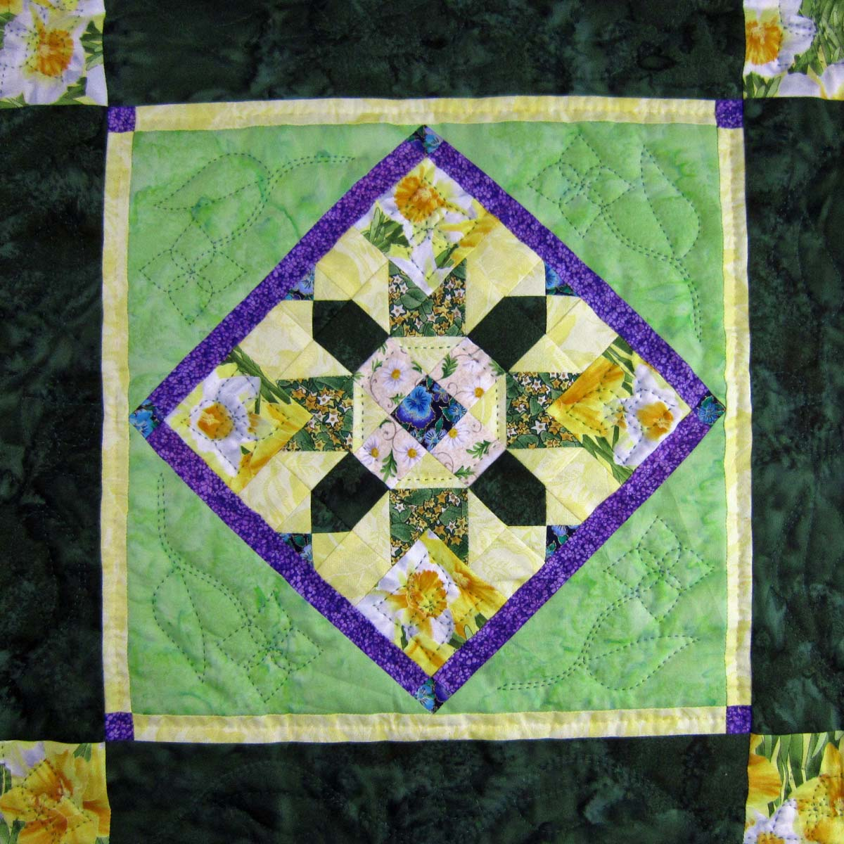 Tie A Yellow Ribbon Quilt